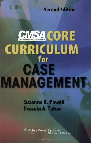 CMSA Core Curriculum for Case Management  2nd 2008 (Revised) edition cover