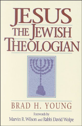 Jesus the Jewish Theologian  N/A edition cover