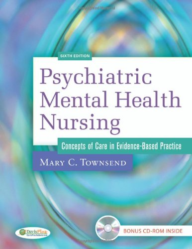Psychiatric Mental Health Nursing Concepts of Care in Evidence-Based Practice 6th 2009 (Revised) edition cover