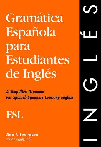 Gramatica Espanola para Estudiantes de Ingles  1993 edition cover