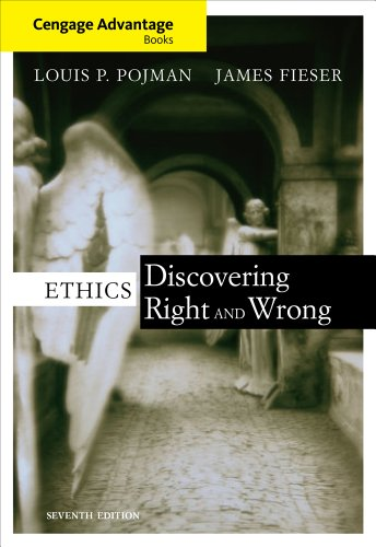 Ethics Discovering Right and Wrong 7th 2012 edition cover