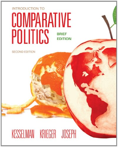 Introduction to Comparative Politics, Brief Edition  2nd 2013 9781111834173 Front Cover