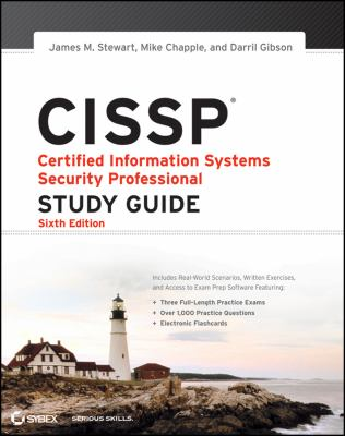 CISSP Certified Information Systems Security Professional 6th 2012 edition cover