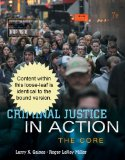 Criminal Justice in Action: 7th 2013 edition cover