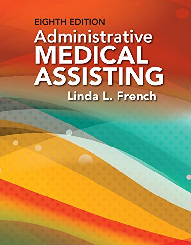 Administrative Medical Assisting:   2017 edition cover