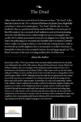 James Joyce: the Dead  N/A edition cover