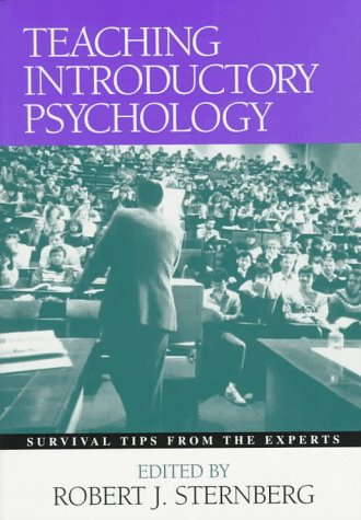 Teaching Introductory Psychology Survival Tips from the Experts  1997 edition cover