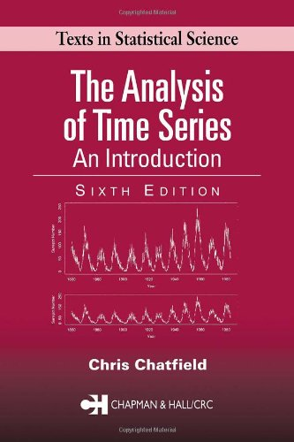 Analysis of Time Series An Introduction 6th 2003 (Revised) edition cover