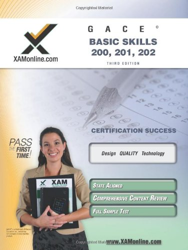 GACE Basic Skills 200, 201, 202  3rd edition cover