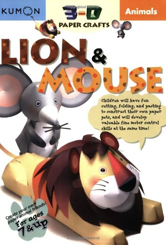 Animals Lion and Mouse  N/A 9781933241173 Front Cover