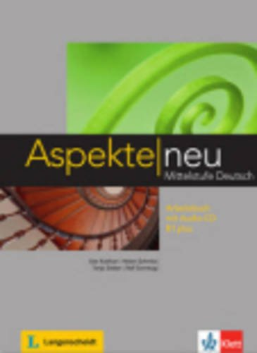 Aspekte neu: Arbeitsbuch B1 plus mit Audio-CD  0 edition cover