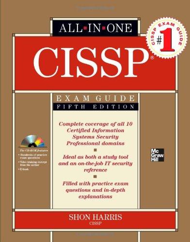 CISSP  5th 2010 edition cover
