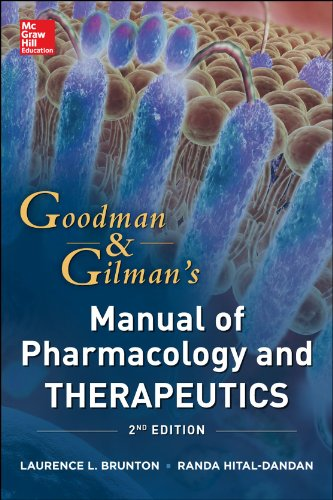 Goodman and Gilman's Manual of Pharmacology and Therapeutics  2nd 2014 edition cover