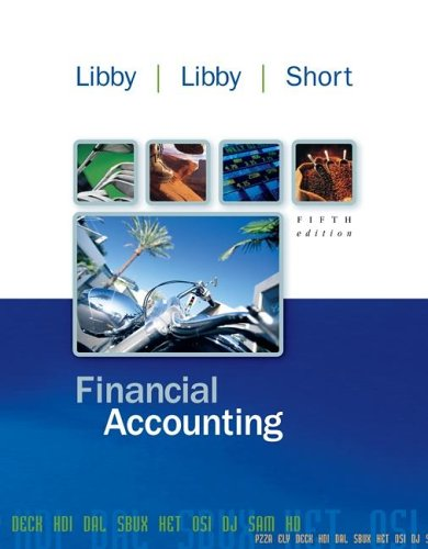 Financial Accounting 5th 2007 edition cover