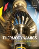 Thermodynamics: An Engineering Approach 8th 2014 9780073398174 Front Cover