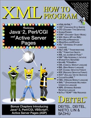 XML How to Program   2001 edition cover