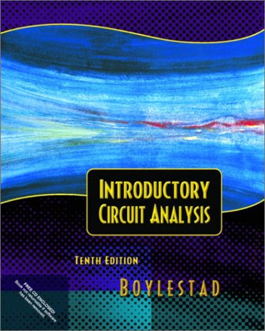 Introductory Circuit Analysis  10th 2003 edition cover