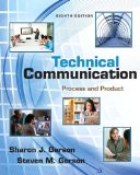 Technical Communication Process and Product Plus MyWritingLab with EText -- Access Card Package 8th 2014 edition cover