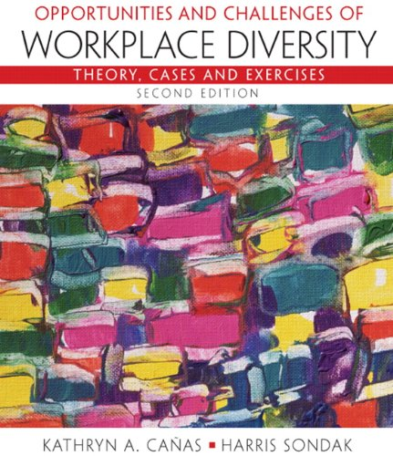 Opportunities and Challenges of Workplace Diversity  2nd 2011 edition cover