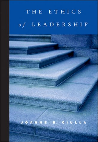 Ethics of Leadership   2003 9780155063174 Front Cover