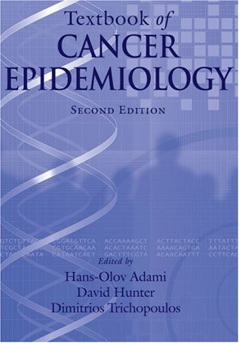 Textbook of Cancer Epidemiology  2nd 2007 edition cover