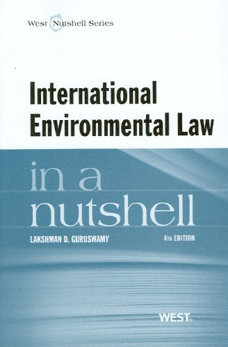 International Environmental Law  4th 2012 (Revised) edition cover