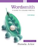Wordsmith: A Guide to College Writing  2015 edition cover
