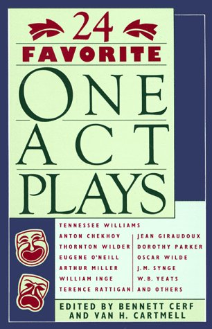 24 Favorite One Act Plays   2000 edition cover