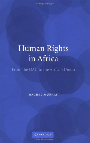 Human Rights in Africa From the OAU to the African Union  2004 9780521839174 Front Cover