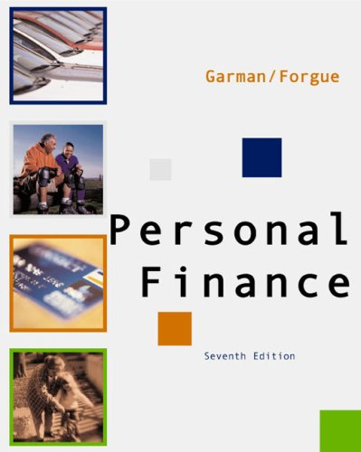 Personal Finance 7th 2003 9780618214174 Front Cover