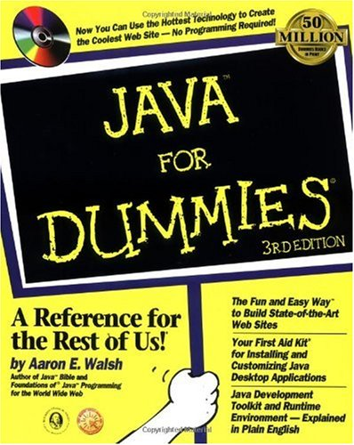 Java for Dummies  3rd 1998 (Revised) 9780764504174 Front Cover