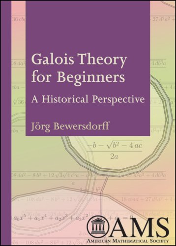 Galois Theory for Beginners A Historical Perspective  2006 9780821838174 Front Cover