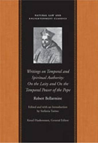 Writings on Temporal and Spiritual Authority On the Laity and on the Temporal Power of the Pope  2010 9780865977174 Front Cover