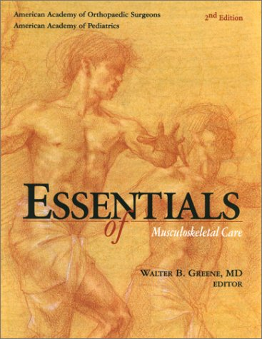 Essentials of Musculoskeletal Care  2nd 2001 edition cover