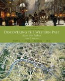 Discovering the Western Past A Look at the Evidence, since 1500 7th 2015 edition cover