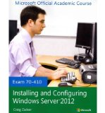 70-410 Installing and Configuring Windows Server 2012   2013 edition cover