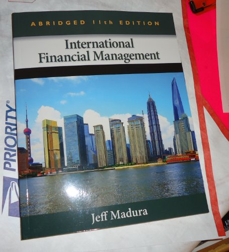 International Financial Management, Abridged Edition  11th 2013 edition cover