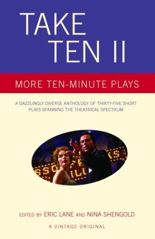 Take Ten II More Ten-Minute Plays  2003 9781400032174 Front Cover