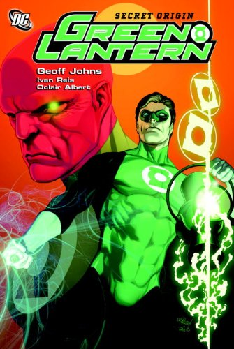Green Lantern: Secret Origin   2008 9781401220174 Front Cover