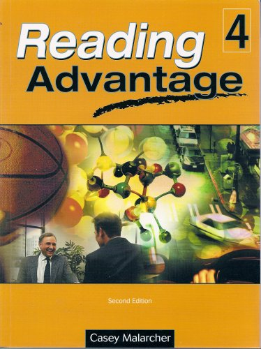 Reading Advantage  2nd 2004 (Student Manual, Study Guide, etc.) edition cover