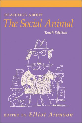 Readings about the Social Animal  10th 2008 edition cover