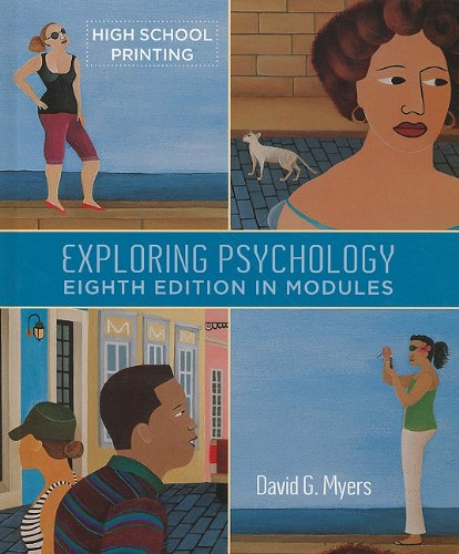 Exploring Psychology in Modules  8th 2010 edition cover