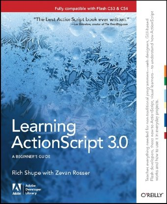 Learning ActionScript 3.0  2nd 2010 9781449390174 Front Cover