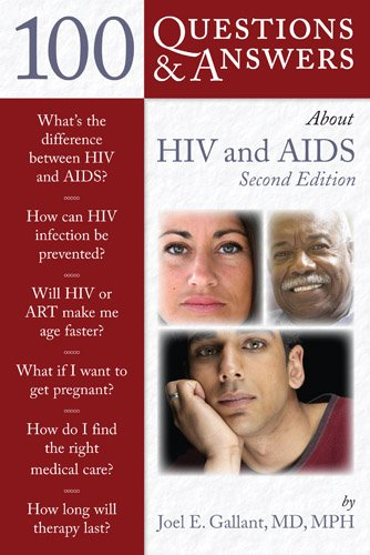 100 Questions and Answers about HIV and AIDS  2nd 2012 edition cover