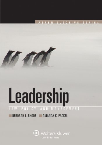 Leadership Law, Policy, and Management  2011 edition cover