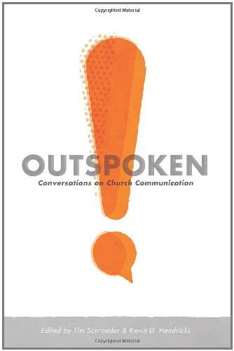 Outspoken Conversations on Church Communication  2011 edition cover