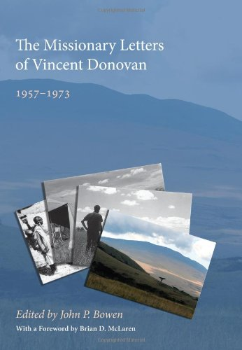 Missionary Letters of Vincent Donovan 1957-1973 N/A edition cover