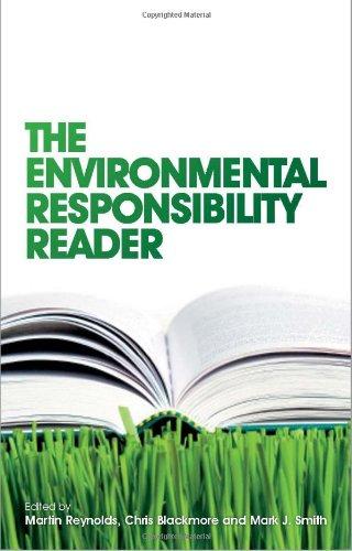 Environmental Responsibility Reader   2009 edition cover
