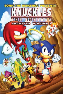 Knuckles - The Echidna Archives   2012 9781936975174 Front Cover