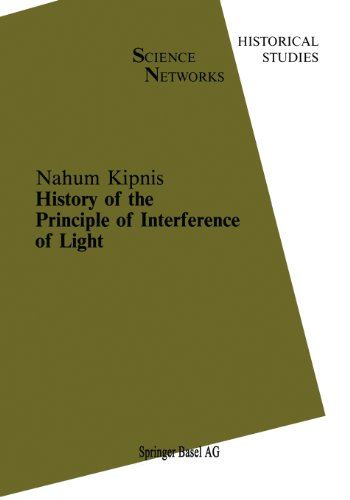 History of the Principle of Interference of Light   1991 edition cover